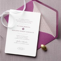 Allison Wedding Invitation