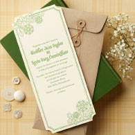 Heather Wedding Invitation