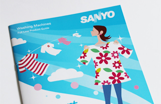 Sanyo Washing Machine Catalogs